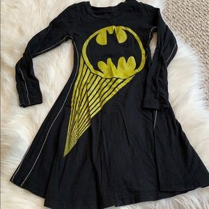 Nordstrom's trunk Batgirl dress cotton cute design